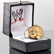 WWE World Heavyweight Championship Finger Ring