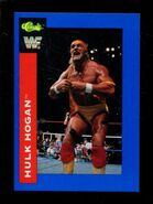 1991 WWF Classic Superstars Cards Hulk Hogan 123
