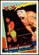 1992 WCW Trading Cards (Topps) The Steiner Brothers 16