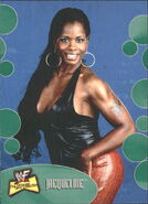 2001 WWF The Ultimate Diva Collection (Fleer) Jacqueline 18