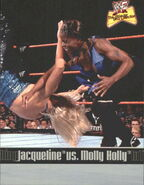 2001 WWF The Ultimate Diva Collection (Fleer) Molly Holly vs. Jacqueline 82