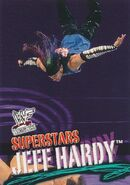 2001 WWF WrestleMania (Fleer) Jeff Hardy 7