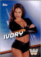 2016 WWE Divas Revolution Wrestling (Topps) Ivory 5