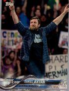 2018 WWE Wrestling Cards (Topps) Daniel Bryan 28