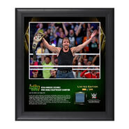 Dean Ambrose Money In The Bank 2016 15 x 17 Framed Photo w Ring Canvas