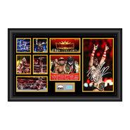 Finn Balor WrestleMania 35 Signed Commemorative Plaque