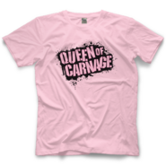 Madusa Queen of Carnage (Pink) T-Shirt