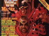 WWF Magazine - October 1990