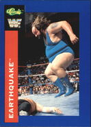 1991 WWF Classic Superstars Cards Earthquake 92