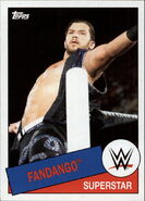 2015 WWE Heritage Wrestling Cards (Topps) Fandango 87