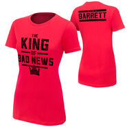Bad News Barrett King of Bad News Women's Authentic T-Shirt