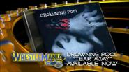 Drowning Pool Tear Away live in WRESTLEMANIA 18