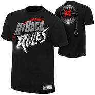 Ryback Ryback Rules Authentic T-Shirt