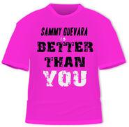 SAMMY IS BETTER THAN YOU - t-shirt
