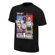 SummerSlam 2018 Alexa Bliss vs Ronda Rousey Match T-Shirt