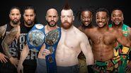 TLC 2018 Triple Threat Tag Team Match