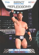 2012 TNA Impact Wrestling Reflexxions Trading Cards (Tristar) Mr. Anderson 79