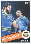 2015 WWE Heritage Wrestling Cards (Topps) The Twin Towers 46