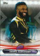 2019 WWE Raw Wrestling Cards (Topps) Cedric Alexander 78