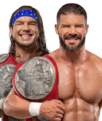 Gable Roode Raw Tag Champions