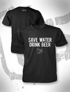 James Storm Save Water T-Shirt