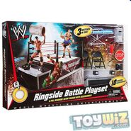 Wrestling Exclusive Ring Ringside Battle