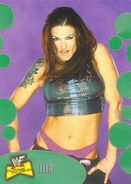 2001 WWF The Ultimate Diva Collection (Fleer) Lita 54