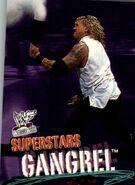 2001 WWF WrestleMania (Fleer) Gangrel 35