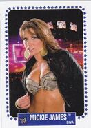 2008 WWE Heritage IV Trading Cards (Topps) Mickie James 69