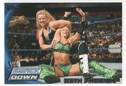 2010 WWE (Topps) Beth Phoenix (No.15)