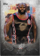 2016 Topps WWE Undisputed Wrestling Cards Mark Henry 22