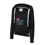 AJ Lee Love Bites Women's Tri-Blend Pullover Hoodie Sweatshirt