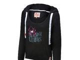 """AJ Lee """"Love Bites"""" Women's Tri-Blend Pullover Hoodie Sweatshirt"""