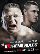 Extreme Rules (2012) Poster