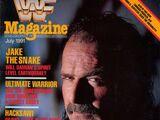 WWF Magazine - July 1991