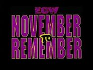 November to Remember Logo