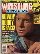 Wrestling Ringside - March 1991