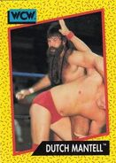 1991 WCW (Impel) Dutch Mantell 81