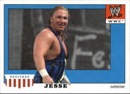 2008 WWE Heritage IV Trading Cards (Topps) Jesse 26