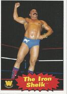 2012 WWE Heritage Trading Cards The Iron Sheik 81