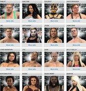 SD vs RAW roster 2