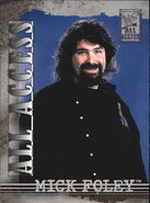 2002 WWF All Access (Fleer) Mick Foley 32
