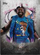 2016 Topps WWE Undisputed Wrestling Cards Kofi Kingston 20