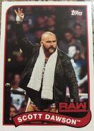 2018 WWE Heritage Wrestling Cards (Topps) Scott Dawson 118