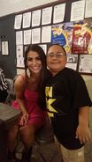 Veronica Lane & NXT fan