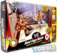 Wrestling Exclusive Ring Steel Cage Match