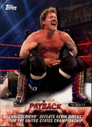 2018 WWE Road to Wrestlemania Trading Cards (Topps) Chris Jericho 34