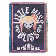Alexa Bliss Little Miss Bliss Tapestry Blanket