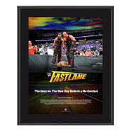 Bludgeon Brothers FastLane 2018 10 x 13 Photo Plaque