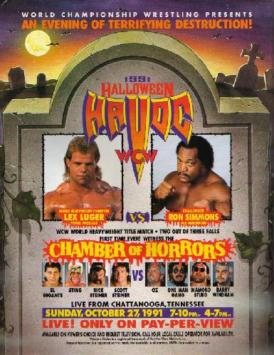 Halloween Havoc 1991 | Pro Wrestling | FANDOM powered by Wikia